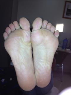 Jane Trumper's Feet, by Hoka OneOne