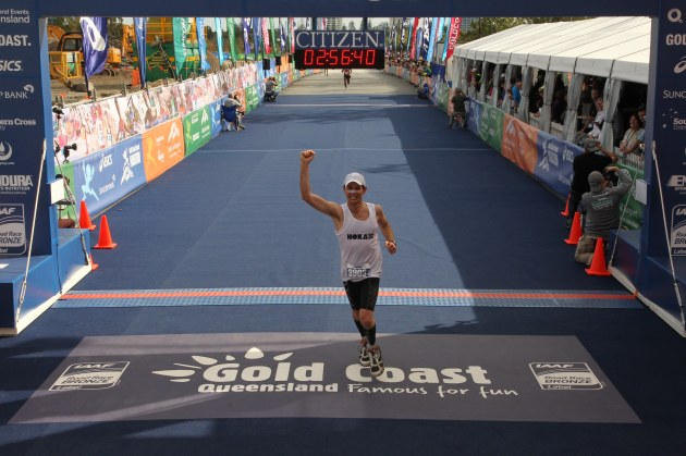 Job done! Great run by Rob Mason, Gold Coast 2013.