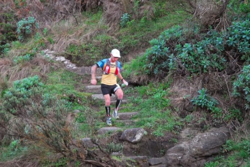 Scott Hawker in action on course, pic by Brett Saxon
